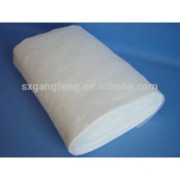 Rouleau de gaze de coton absorbant médical Qualité 2Ply BP