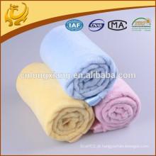 Blanket Manufacter Coral Fleece 100% Algodão Para Cobertores Celulares Hospitalos