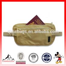 La meilleure vente ceinture de prix de ceinture de sac de résistance à l'eau Ceinture d'argent de voyage pour le voyage