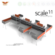 Durable Panel Cubicle Desk Office Workstation Furniture (HY-260)