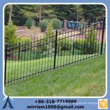 Slope terrain using 1800 mm* 2400 mm Black Slope steel fence