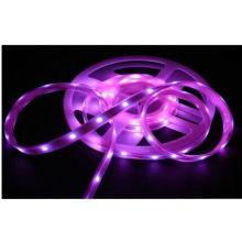 Tiras púrpuras de 4.8W / M Epistar SMD3528 IP68 LED / 2100lm 24W LED Flex Strip Lights