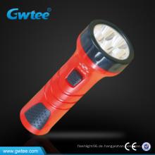 Billiger Kunststoff helle wiederaufladbare Mini-LED-Taschenlampe Licht