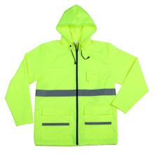 Высокая видимость спецодежды Отражательная куртка безопасности с CE