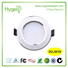 China guangdong Supplier High power Good price IP 54 rohs led downlight 7w AC230v ul listed dimmable led downlight
