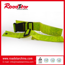 Cycle use reflective waist safety belt