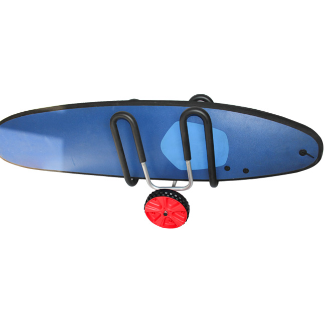 Carrito de playa SUP de tabla de surf de aluminio stand up paddleboard carro