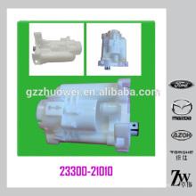 Pièces de voitures japonaises standard TOYOTA Previa / Corolla / Camry (2.4L) Filtre à carburant 23300-21010