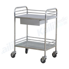 Stainless Steel Treatment Trolley Hospital
