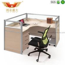 Simplex Office Computer Wooden Desk Workstation Office Furniture (HY-P13)