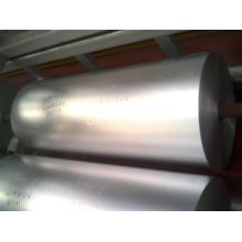 Espessura de folha de alumínio e alumínio de emagrecimento