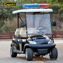 Carro bonde elétrico do golfe do carro do clube de patrulha do carro de golfe 48v do assento 4