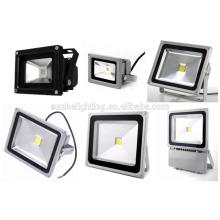 Hohe Helligkeit Wasserdichte LED Flutlicht Landschaftslampe im Freien Scheinwerfer 10W 20W 30W 50W 100W mit UL