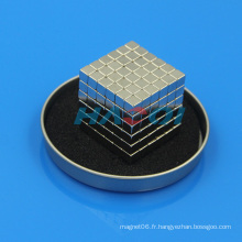 N35 Ni enrobage en terre rare Magnétique bloc magnétique