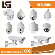 Todos os tipos de carcaça de câmera CCTV de cúpula de liga de alumínio bala