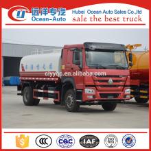 6 * 4 Sinotruk Howo 20000 litros camión cisterna de agua