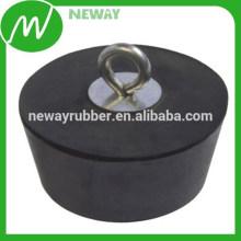 Kundenspezifische Design Runde Form Durable Silikon Gummistopfen