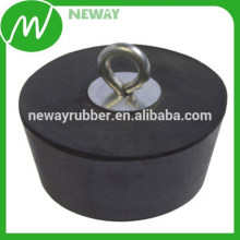 Custom Design Round Shape Durable Silicone Rubber Plug