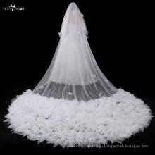 Продукты TA041 2017New Оборкой 5 метров Длина пола свадебные аксессуары фата