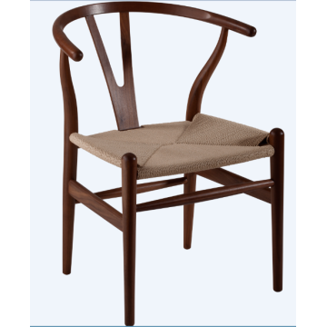 Wishbone Chair / Y Chair / Walnussholzstuhl