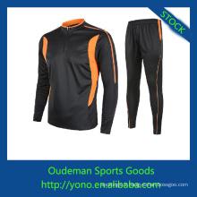 Service d'OEM à manches longues maillots de football avec des prix pas cher par Alibaba express