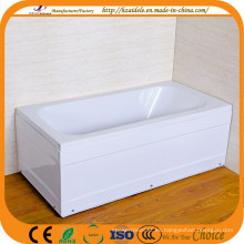 Cuarto de baño simple bañera cuadrado (CL-711)