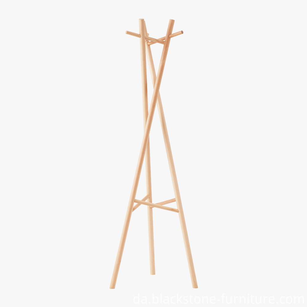 Oak Cloth Rack