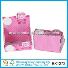 Изготовленный на заказ хлопните бумажная коробка дисплея
