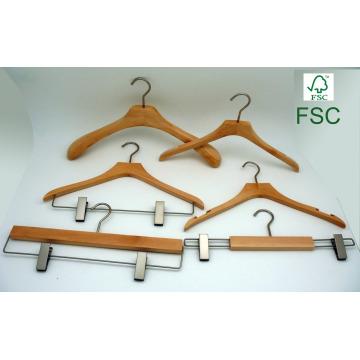 Bountique costume robe en bois cintre personnalisé