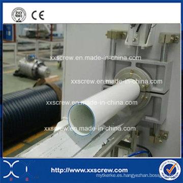Extrusora de tubo de tres capas de PVC