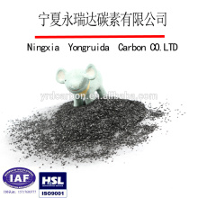 China supplier 8*30 mesh granular coconut shell activated carbon