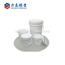 Environment Protected Safe Product Paint Bucket Injection Mould Plastic Paint Bucket Moulding