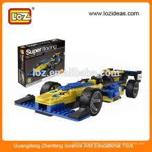 LOZ Super racing car building block toys