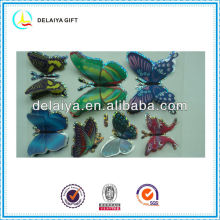 emulational 3D butterfly stickers for kids decoration
