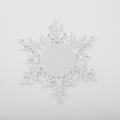Copos de nieve de adorno de Navidad de acrílico