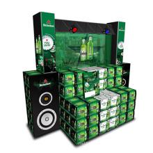 Cardboard Wine Beer Promotion Display