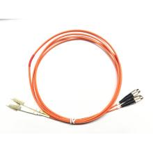 LC TO FC mejor cable de parche de fibra óptica