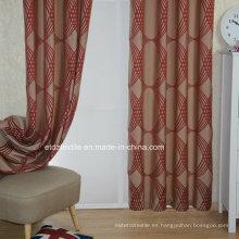 Color popular europeo Diseño simple moderno de la cortina