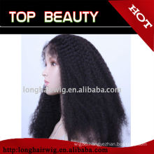QingDao hair factory fast shipping natural looking wigs for africa americans