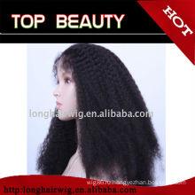 Быстрая доставка, выход фабрики цена вьющиеся афро парики для чернокожих женщи