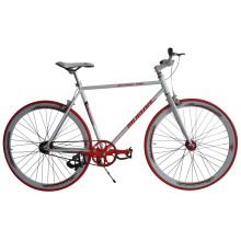 Acero 700c bicicleta de la bici de la pista del engranaje fijo (FP-FGB1301)