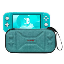 Universal Eva Hard Game Switch Case, Carrying Case for Nintendo Switch Lite 2019, Portable Hard Shell Pouch Travel Game Bag