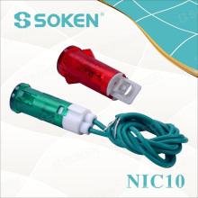 Indikator Licht Neon / LED mit Linie / Abbildung Typ