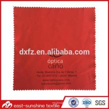Ткань с микрофибрами для очков с логотипом для трафаретной печати; Ткань для очистки линз с логотипом; Солнцезащитные очки Ткань для очистки