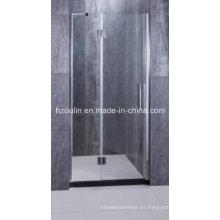 Vidrio de ducha de bisagra