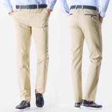 Pantalons de travail Chino loisirs de haute qualité pour hommes