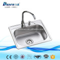 SUS 304 drop in apron front dual kitchen sink 33 x 22 inch with sink protector grid