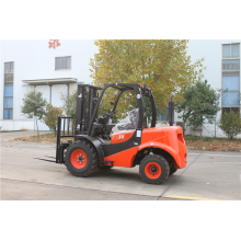 4x4 Rough Terrain Forklift 3ton