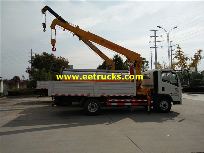 4ton Truck Mounted Cranes