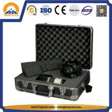 Caixa de alumínio duro com espuma para equipamentos, câmeras (HC-2002)